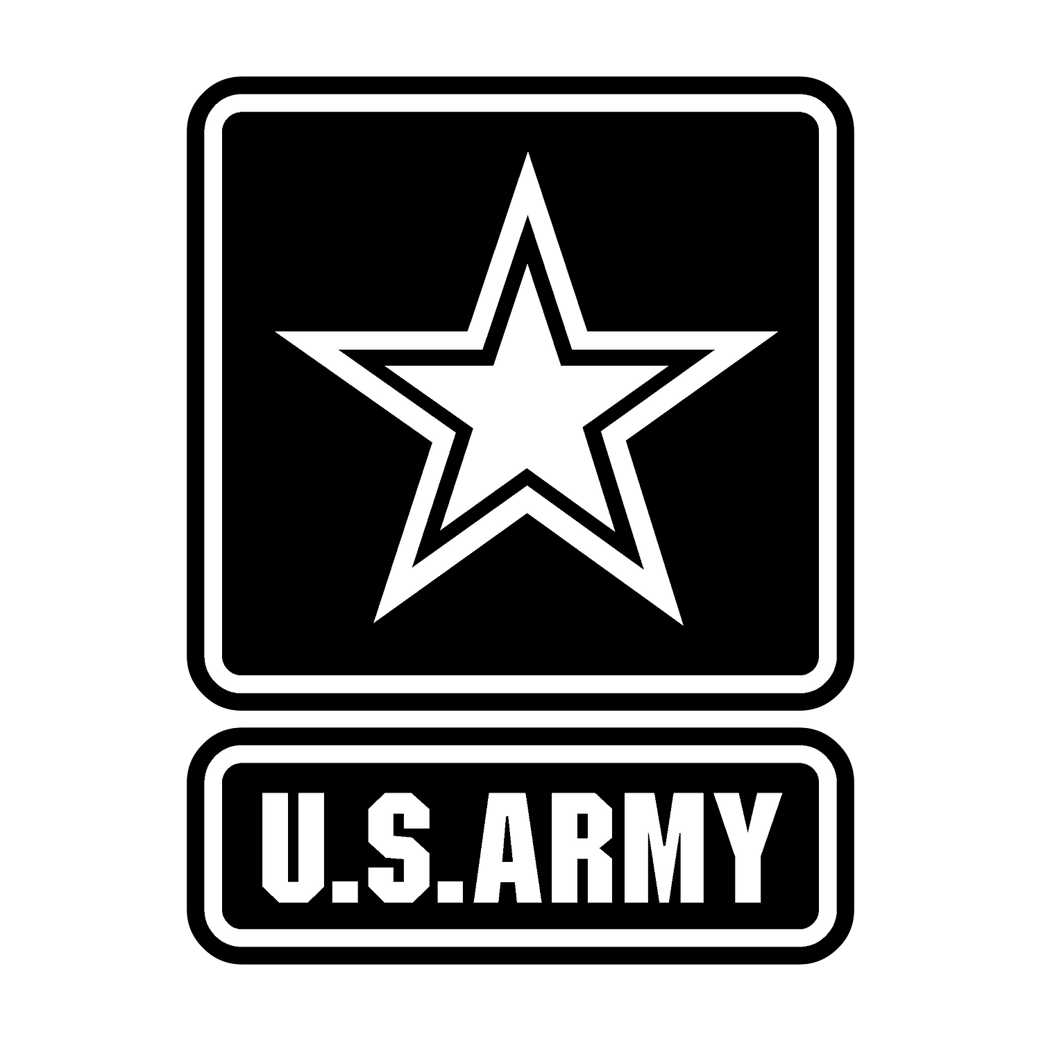 us-army-logo-black-and-white