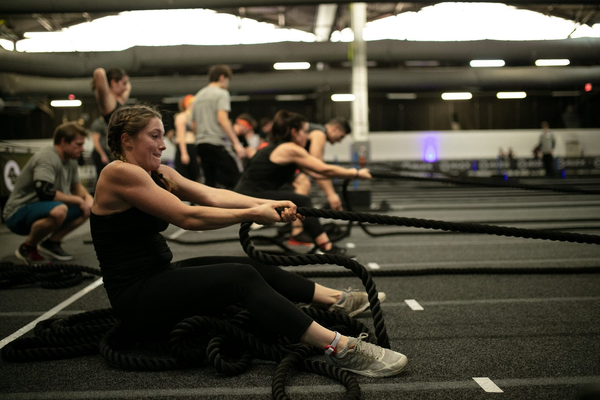 SLED PULL NYC EVENT