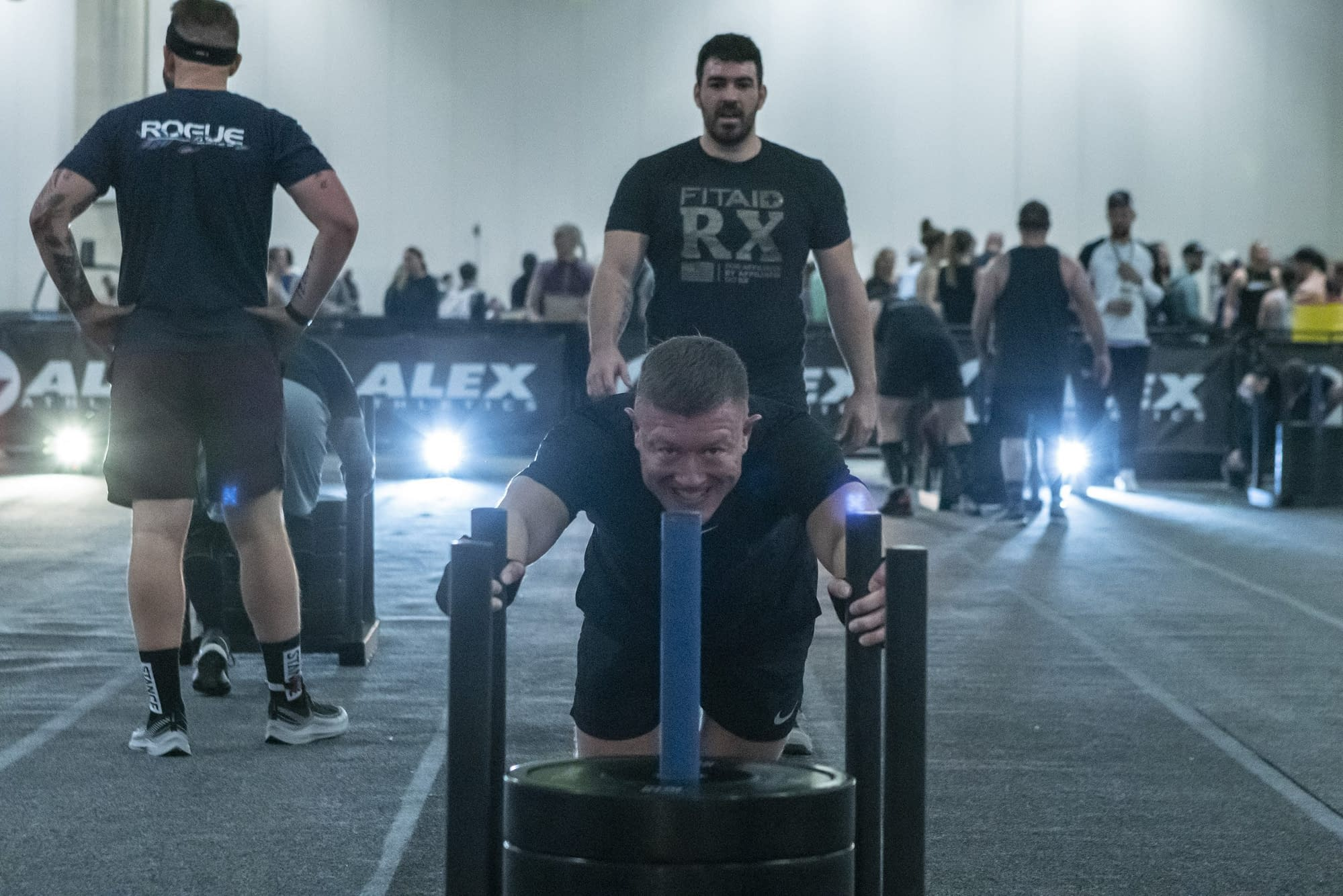 SLED PUSH DALLAS DOUBLES